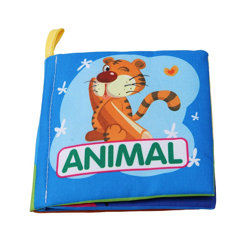 Baby Books For Kids Quiet Book Soft Cloth Book In English Baby Intelligence Development Learn Picture Cognize Libros Infantiles